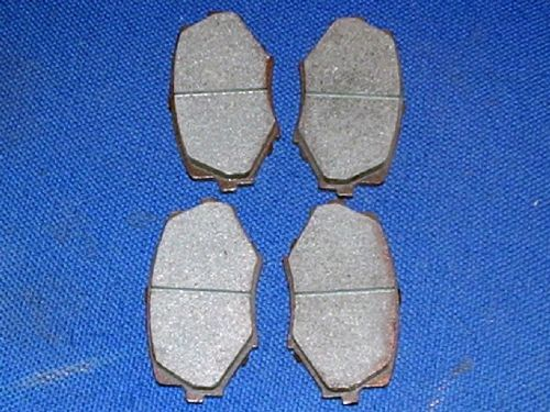 Brake pads, Mazda MX-5 mk2, front, for 255 mm discs